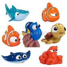 new finding dory baby bath toy set of 7 dory nemo marlin fluke
