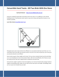 Convertible Hand Truck By Asdfasdfsffsde - Issuu Tal Uplead Author At Sdc Page 5 Of 10 Pallet Truck Hand Trucks Pump And Electric Sydney Trolleys Alinium Trolley Folding Liftn Buddy Battery Powered Lift Dolly U Boat Stock Carts Grocery Wheeled Cart Uboat Dollies Moving Supplies The Home Depot Opinions On Truck Two Men And A Truck Core Values What They Mean To Us What Is Best Image Of Vrimageco Convertible 3 In 1 Hydraulic Flat Bed Venus Packaging