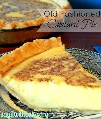 Splenda Easy Pumpkin Pie by The Best Old Fashioned Custard Pie Say It With Cake