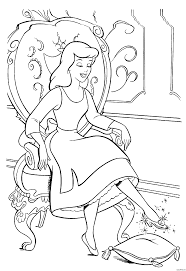 Download Coloring Pages Cinderella Page 1000 Images About On Pinterest Disney And