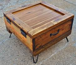 Crate Coffee Table Perfect For Your House Planks So That It Can Be Screwed Into Place