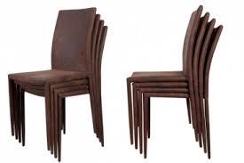 design stuhl echt leder braun