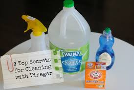 3 top secret tricks for cleaning with vinegar lemonade