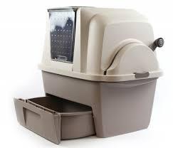 maison de toilette smartsift auto nettoyante pour chat bac et