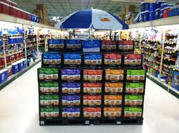 Big Colorful And Simple Supermarket End Display From Pretzel Crisps