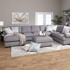 Cosmopolitan Fabric Sectional Half Round Sofa Chair And