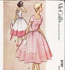 Vintage 50s Dress Pattern 1951 McCalls By AnnesVintagePatterns 1200