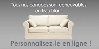 canapé tissu blanc canapé tissu blanc canapé inn