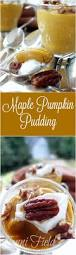 Epicurious Pumpkin Pie Brulee by Maple Pumpkin Pudding With Maple Spiced Pecans