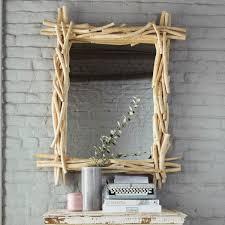 miroir en bois flotté h 113 cm rivage maisons du monde