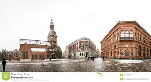 100 Where Is Latvia Located Panorama Of Dome Square With The Dome Cathedral In Riga