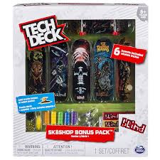 Amazon.com: Tech Deck - Sk8shop Bonus Pack (styles Vary): Toys & Games