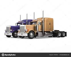 Purple Gold Big Semi Trailer Trucks Side Side — Stock Photo ... Truck Driver Jobs Mntdl Amazing Semi Trucks Drag Racing Youtube Engine Giant Cummins Launched Its Electric Ahead Of Tesla Big Rig Semi Truck Blue Wolf Roads Pls Logistics Nhrda Is Bold Beautiful And Totally Concept Logistic And Delivery Vector Image Bestchoiceproducts Rakuten Best Choice Products 12v Ride On Bangshiftcom 1974 Dodge Horn For Sale Advantage Customs Remote Control Rc Tractor Trailer 18 Wheeler Style Like Progressive Driving School Wwwfacebookcom