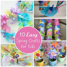 Spring Crafts For Kids 10 Easy Craft Ideas Toddlers And ANRZoPso