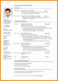 Resume Cv Examples Pdf 12 Besttemplates