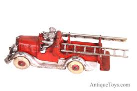 100 Tootsie Toy Fire Truck Hubley With Ladders From The 1930s For Sale Sold
