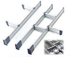 adjustable kitchen drawer dividers aluminum modular