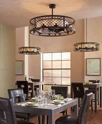Dining Room Ceiling Fan Innovative On In Fancy Fans Light Fixture