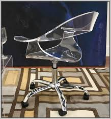 Acrylic Desk Chair With Arms by Clear Acrylic Chairs With Arms Chairs Home Decorating Ideas
