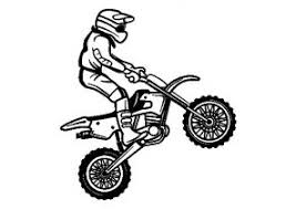 Dirt Bike Coloring Pages Printable For Kids Coloring4free