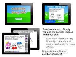Coloring Book IPad App Template