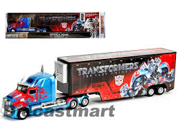 JADA 1:64 TRANSFORMERS OPTIMUS PRIME WITH TRAILER WESTERN STAR 5700X ...