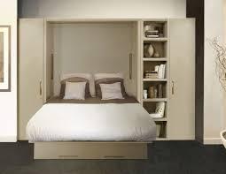 lit avec canapé armoire lit ketiam 140 de couchage avec canape devant et volume