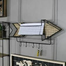 retro metall pfeil wand regal haken rack wohndeko rustikal