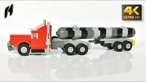 Long-Haul Truck With Tanker Trailer (MOC - 4K) | Lego | Pinterest ...
