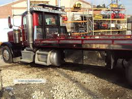 Flatbed Tow Truck Peterbilt 379, Peterbilt Flatbed Tow Truck For ...