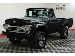1960 Ford F100 For Sale | ClassicCars.com | CC-1060317 Shanes Car Parts Vehicle Featured In Popular Mechanics 1960 Ford F100 Gateway Classic Cars St Louis 6232 Youtube Subtle And Clean Hot Rod Network 1957 Pickup Truck 1960ickupnsratspermancebestinafordrear F500 For Sale Best Resource Fire Series Review Specs Pictures Collection Hd Dennis Carpenter Catalogs Benishekforngresscom Ford Pickup Hotrod Blue Silver Craigslist In Rgv