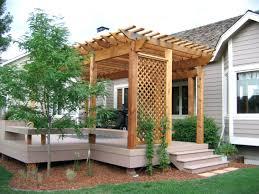 Home Depot Wood Patio Cover Kits by Pergola Design Wonderful Deck Plans With Pergola Pergola Off