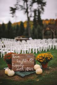 Outdoor Fall Wedding Ceremony, Love The Sign, The Mums, And The ... 58 Genius Fall Wedding Ideas Martha Stewart Weddings Backyard Wedding Ideas For Fall House Design And Planning Sunflower Flowers Archives Happyinvitationcom 25 Best About Foods On Pinterest Backyard Fabulous Budget Reception 40 Best Pinspiration Images On Cakes Idea In 2017 Bella Weddings