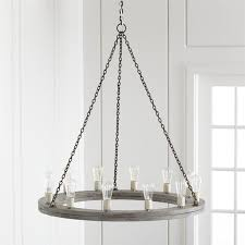 Image Of Attractive Round Rustic Chandelier
