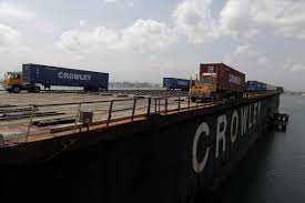 100 Crowley Trucking Adds Six Vessels To Puerto Rico Trade After Storm GCaptain