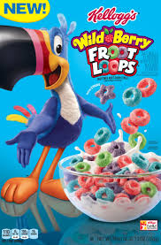 Kelloggs Wild Berry Froot LoopsR Cereal