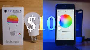smart led lightbulb for 10 tikteck smart lightbulb