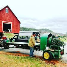 Christmas Tree Baler by Christmas Trees Of Vermont