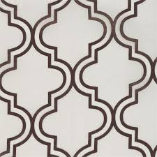 Moroccan Tile Curtain Panels by Monica Pedersen Make It Beautiful Lincoln Park Collection