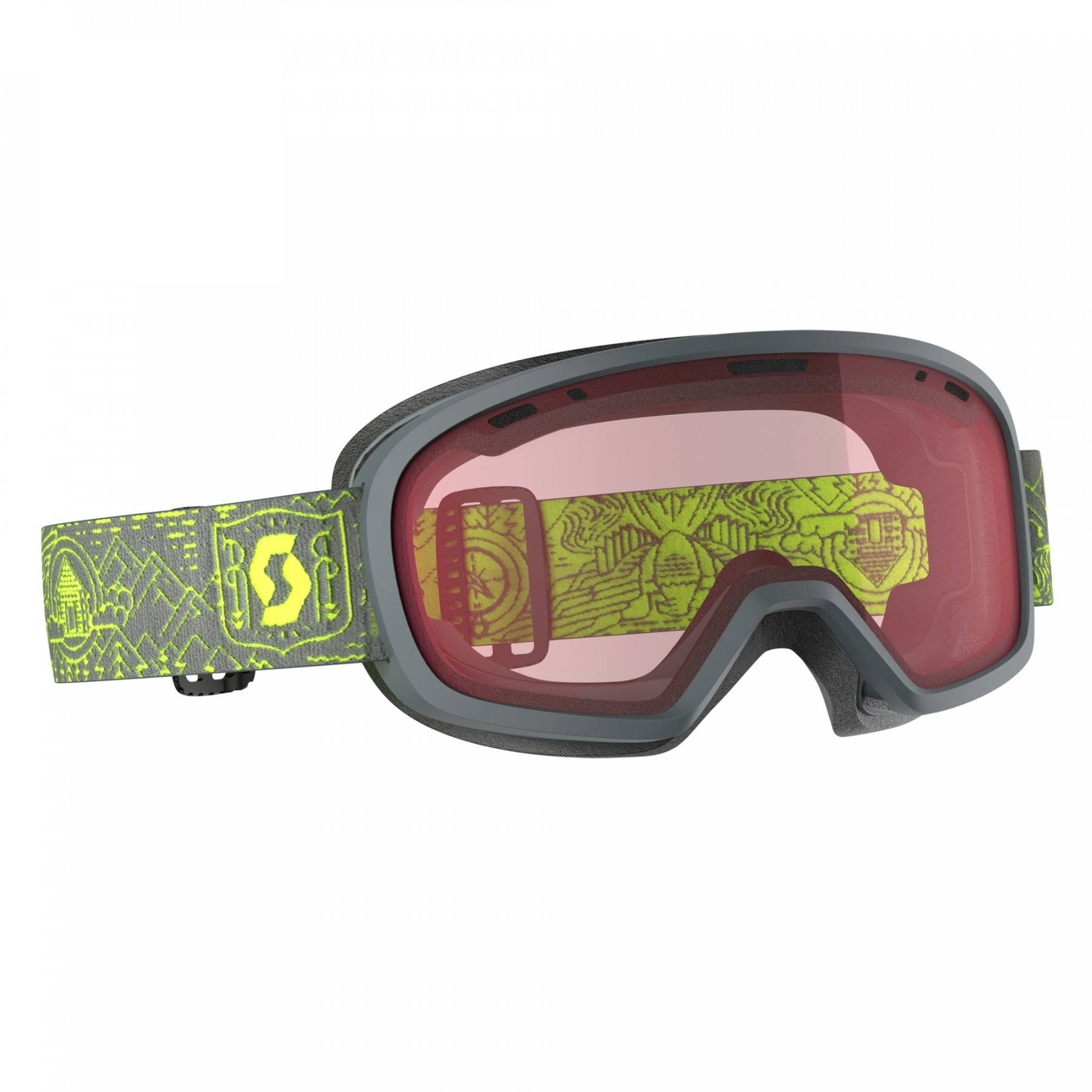 Scott Muse Pro OTG Goggle Grey / Yellow / Enhancer OS