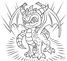 Click The Skylanders Spyro Coloring Pages To View Printable