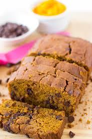 Healthy Chocolate Pumpkin Desserts by Healthy Pumpkin Chocolate Chip Bread Gluten Free U0026 Vegan