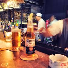 Suasana Rustico Dibagian Bar Rusticos Pizza Rp 68000 Dan Ice Lemon Tea 18000