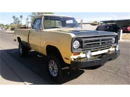 100 73 Dodge Truck 19 Power Wagon For Sale ClassicCarscom CC1132906