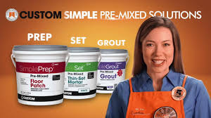 Acrylpro Ceramic Tile Adhesive Sds by Choosing Simple Pre Mixed Tile Setting Products Youtube