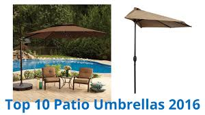 Hampton Bay Patio Umbrella by 10 Best Patio Umbrellas 2016 Youtube