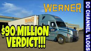 100 Werner Trucking Phone Number Texas Jury Hits Enterprise With 896M Verdict VLOG YouTube