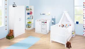 chambre bébé lit commode bébé évolutif 140x70 et commode à langer blanc