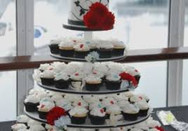 Black and White Wedding Ideas Elegant Wedding Cakes Black and Red Wedding Cupcakes Ichunmeng