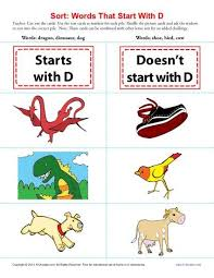 Lovely Words that Start with the Letter D